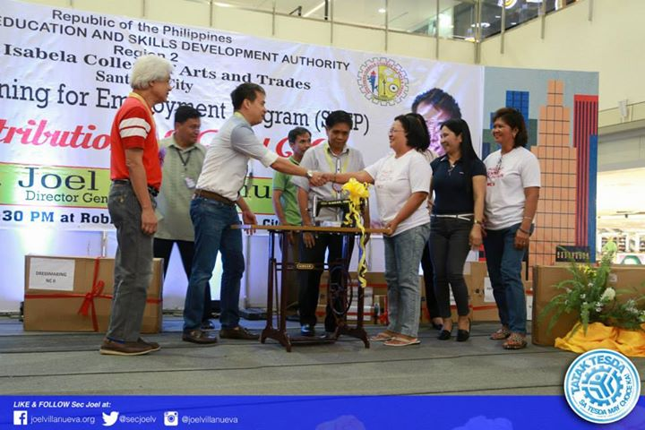 Training Trabaho in Isabela & Quirino Provinces w/ Sec Joel