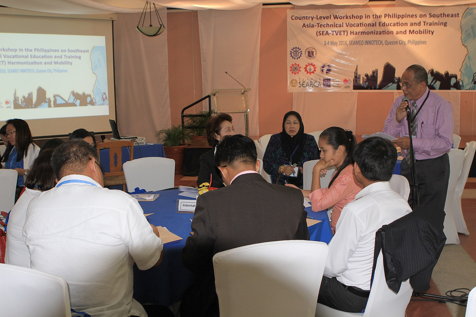 country level workshop on sea tvet harmonization and their participation in the sea tvet consortium was signed at the end of the workshop which was hosted by tesda and the department of education together